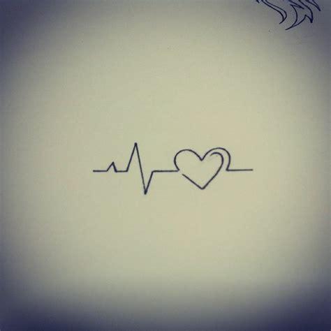 heartbeat ending tattoo heart beat by dirtfinger deviantart com tattoo ideas