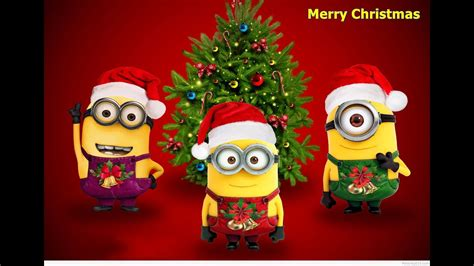 christmas song  merry christmas remix minions version  youtube