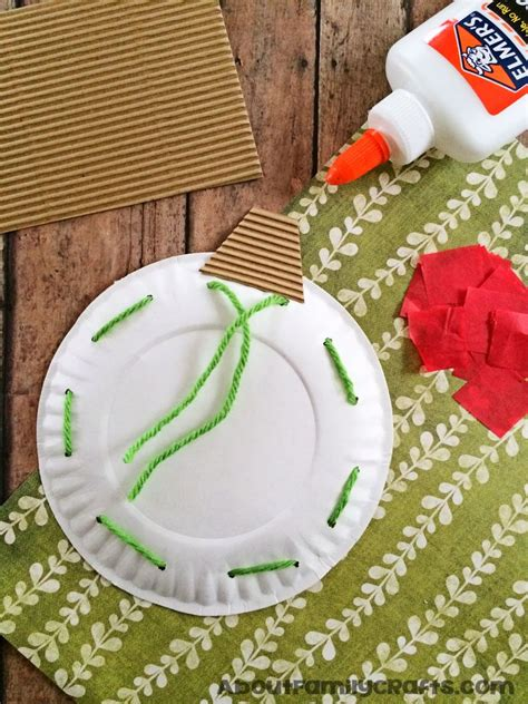 Paper Plate Decoration Craft - paper plate ornament decoration about family