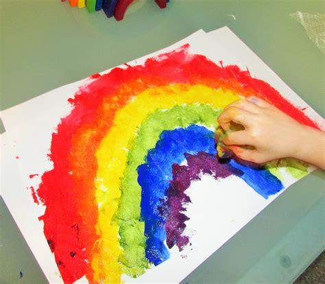 color craft for rainbow colour mixing craft ideas for
