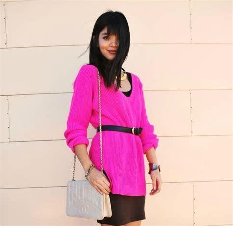 Dont Copy Me Pink Sweater inspirafashion highlights