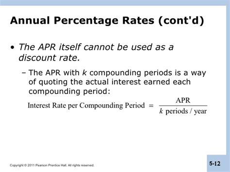 berk chapter 5 interest rates