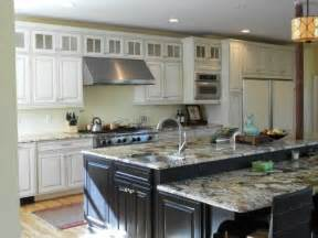kitchen island height staggered height island kitchens