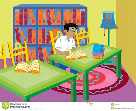 Comic Book Shelves Boy Reading Royalty Free Stock Photography Image 2832927