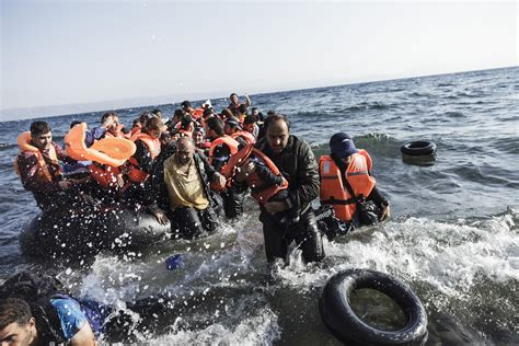 refugee crisis europe boat donald trump immigration position is more correct thank