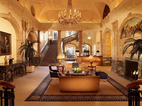 Five Interiors by Hotel In The Landmark Hotel History