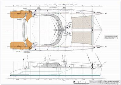 catamaran study plans lidgard yacht design 73 ft catamaran multihull study plan