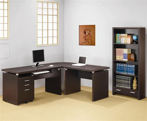 L Shaped Desk With Bookcase Best Home Design 2018 L Shaped Desk With Bookcase