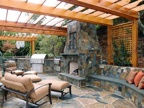 rustic backyard rustic outdoor kitchen patio mediterranean with back yard landscaping backyard