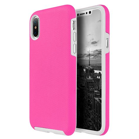 Hp Iphone saapni apple iphone x ezpress anti slip hybrid pink tcaipx ezp hp