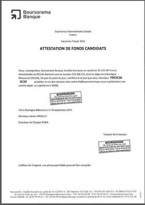 Lettre Demande De Justificatif Canada Pvt 2013 Pvt Et Attestations De Fonds Justificatif De Fonds Page 122