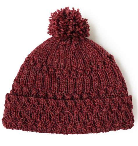 pom pom knitting patterns marsala pom pom knit hat pattern allfreeknitting