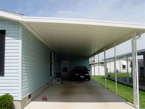 mobiles carport image gallery mobile home attached carports
