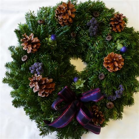 scottish christmas wreath scottish christmas trees