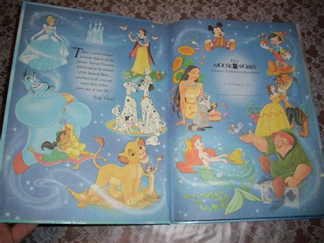 disney s classics books disney the mermaid hardcover large book mouse works