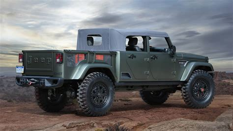Jeep Tj Truck Top 2019 Jeep Wrangler Truck To Feature Convertible