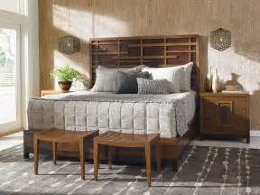 tommy bahama home bedroom shanghai panel bed 6 6 king 556 tommy bahama 537 134c royal kahala harbour king point bed