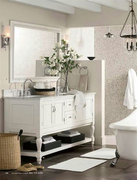 pottery barn bathroom images bath pottery barn home bathroom pinterest