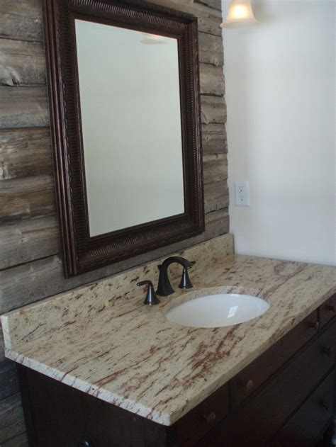 powder room accent wall ideas powder room with barn wood accent wall granite counter
