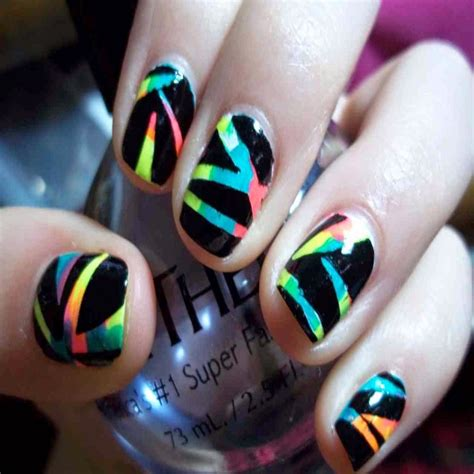 Cool Nail by Cool Nail Designs You Can Do At Home Www Pixshark