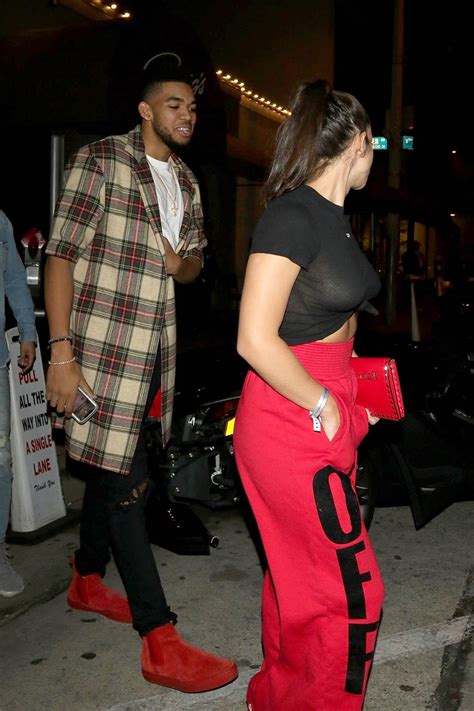 Karl Anthony Towns And Ka Hine Andrade Leaves Craigs