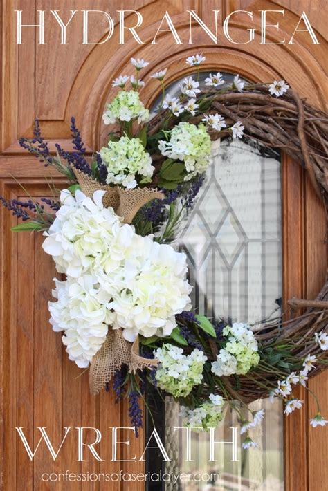 how to make a spring wreath for front door 15 best spring wreaths a blissful nest how i hang wreaths