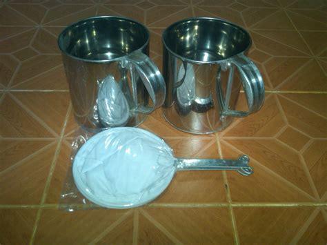 Kopi Lamno Aceh By Bangheri jual paket gayung kopi bahan stainless saringan kopi