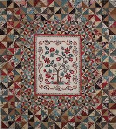 Reproduction Quilt Kits by Mariners Compass Medallion Quilt Quiltpakketten Quilt