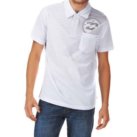 Jual Polo Shirt Billabong billabong society polo shirt white free uk delivery and returns