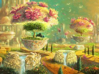 gambar  gambaran surga allah ilustrasi suasana tingkatan