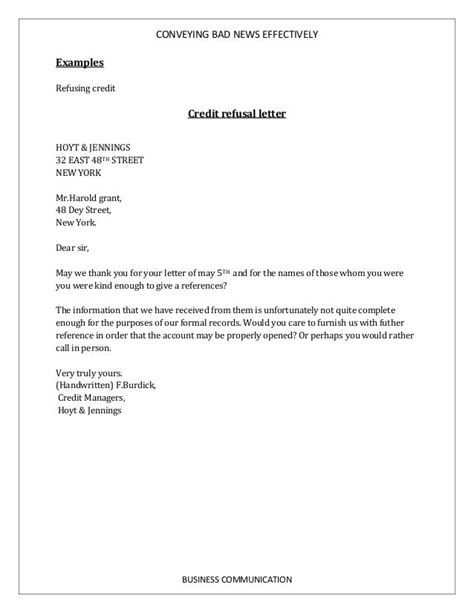 how to write letter of resignation how to write bad news business letter 1323