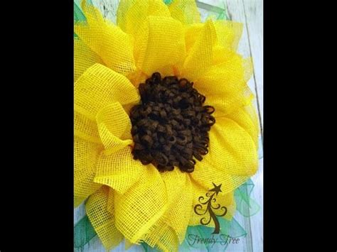 yellow paper flower tutorial by trendy tree yellow sunflower paper mesh tutorial by trendy tree