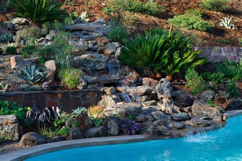 spectacular backyard ideas waterfalls  top