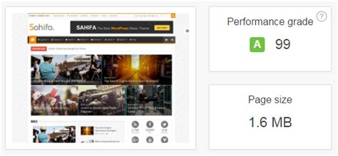 sahifa theme gallery 16 best fast loading wordpress themes to buy 1 is awesome