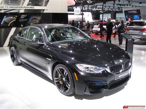 bmw supercar black detroit 2014 black sapphire bmw m4 coupe gtspirit