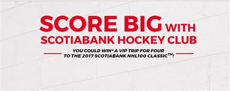 shopping channel canada contest win a trip to nassau scotiabank hockey club 2017 contest win a trip to the