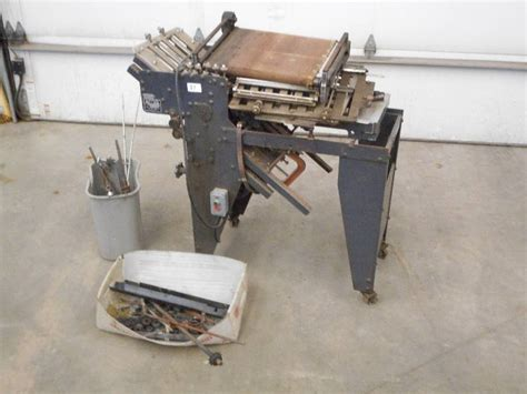 Paper Folding Machine 11x17 - auction listings in minnesota auction auctions loretto