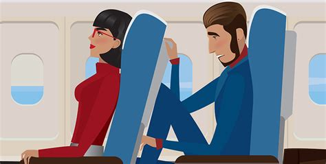 reclining seats on planes 4 rules to observe when you recline your airplane seat