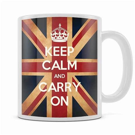 design your own mug keep calm keep calm and carry on mugs buy a red mug and navy blue