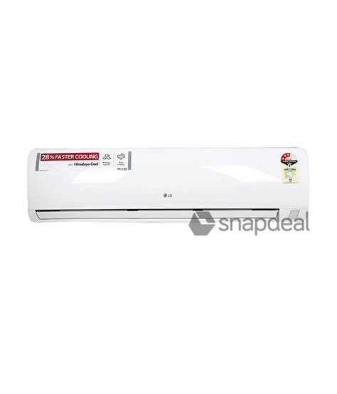 Ac Lg Update lg 1 5 ton 3 lsa5np3a split ac white price in india buy lg 1 5 ton 3 lsa5np3a