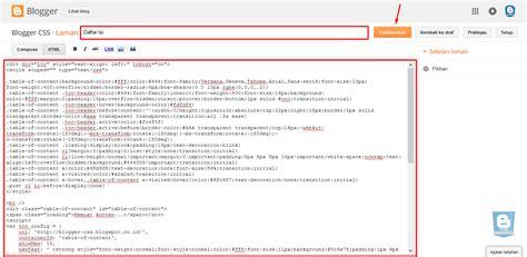 membuat daftar isi blog berdasarkan label cara membuat daftar isi blogger responsive berdasarkan