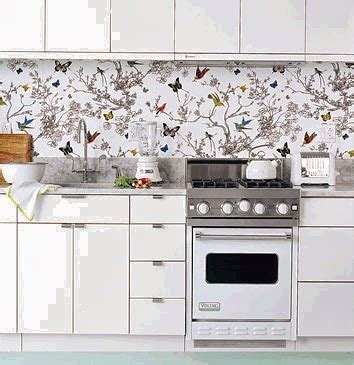 kitchen decorating ideas vinyl wallpaper for the small kitchens beautiful design and decor