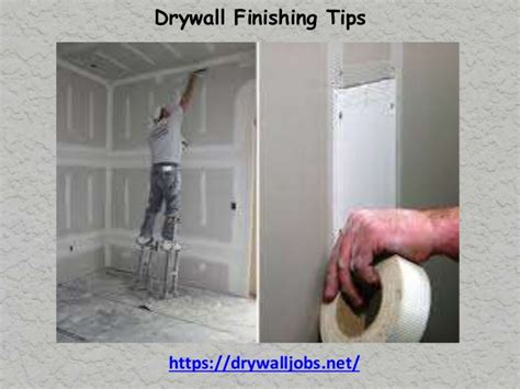 Drywall Tips Drywall Finishing Tips