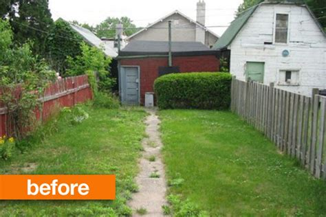 small backyard ideas before after before after empty to lush backyard studio g