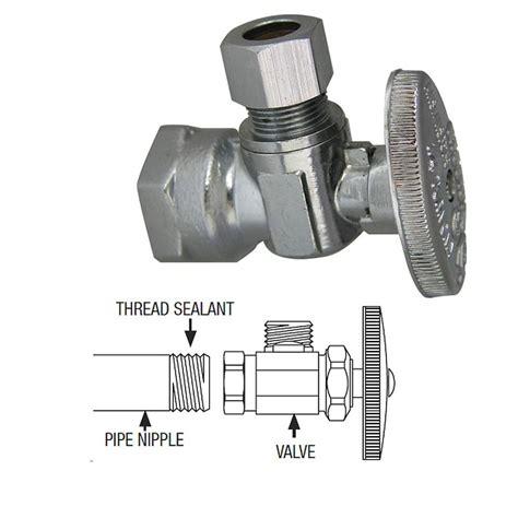 installing water shut off valve under how to install a water shutoff valve