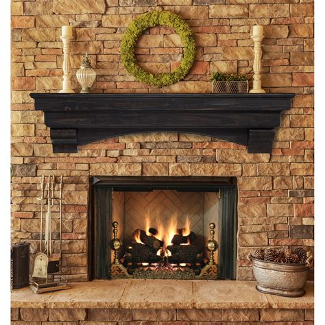 pearl mantels celeste fireplace mantel shelf fireplace