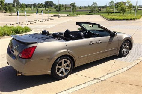 22 Interior Door 2004 Nissan Maxima Convertible Is A Strange Ebay Find