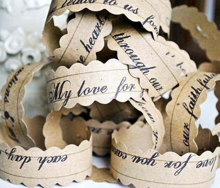 Kette Hochzeit Schlicht by Simply Pretty Wedding Paper And Chain