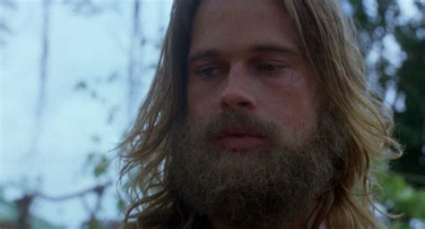 brad pitt decides to grow out forehead hair brad pitt my first time watching legends of the fall hair