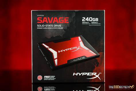 Kingston Ssd Hyper X Savage 960gb kingston hyperx savage ssd review 240gb the ssd review